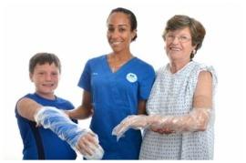 waterproof cast cover patients