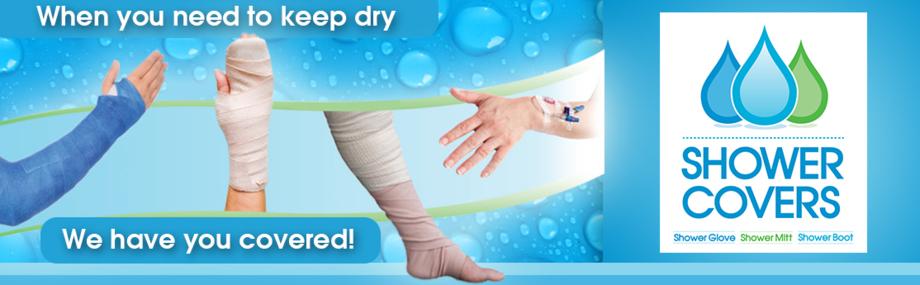 waterproof cast cover slide 1