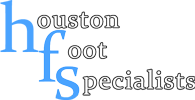 wound care supplies Houston Foot Specialists logo